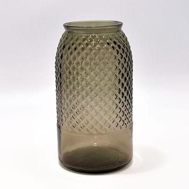 "Recycled Glass Vase  |  28cm ""Diamond"""