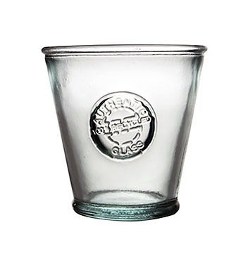 """Recycled Glass Tumbler 