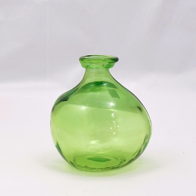 """Recycled Glass Vase  