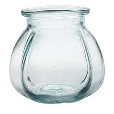 16cm Pumpkin Vase/Tea Light Holder