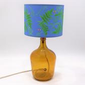 36cm Garrafa Lamp Amber