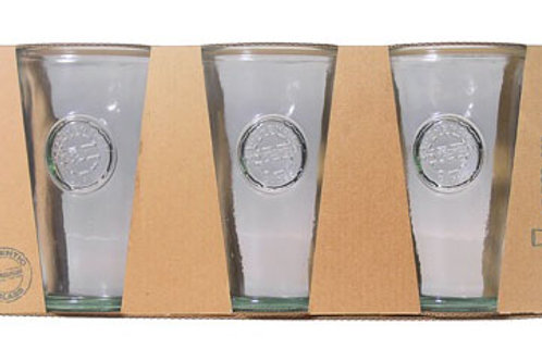 Recycled glass 300ml authentic tumbler giftbox