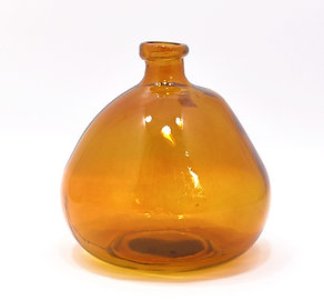 """Recycled Glass Vase     23cm """"Simplicity""""     Blown Glass"""