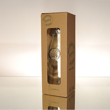 """Recycled Glass Bottle  