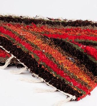 Recycled Cotton Rug | 65cm x 130cm | Soft, Machine Washable