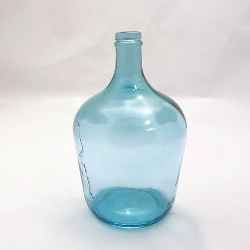 recycled glass demijohn vase