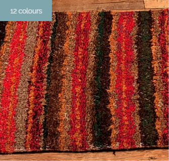 Jarapa recycled cotton rugs