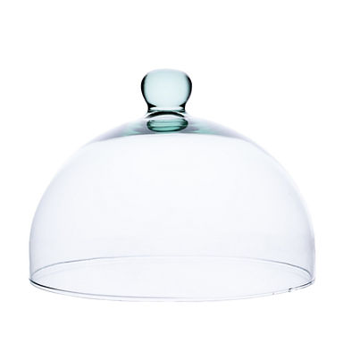 Recycled Glass Dome Cloche | Clear | Fruit Dessert Cheese