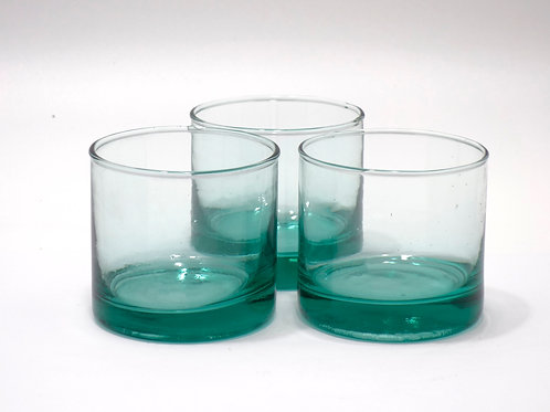 Recycled glass Tumblers | 280ml or 120ml | Sold in sets
