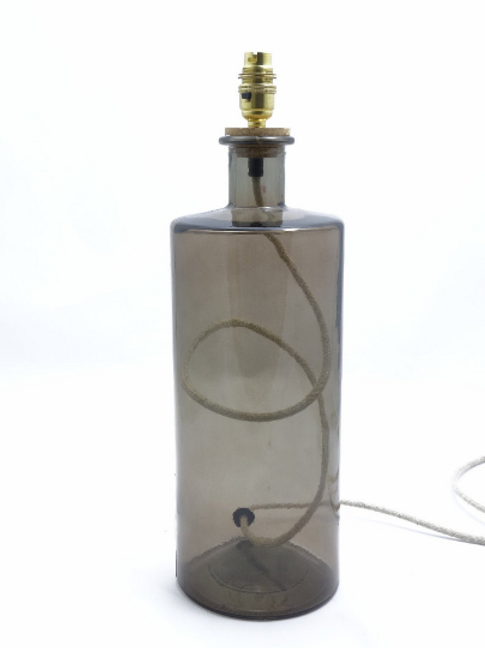 """Recycled Glass Table Lamp 