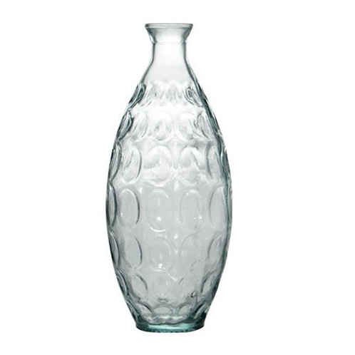 Recycled glass 31cm Dune vase