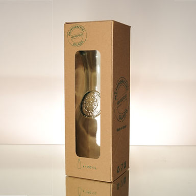 "Recycled Glass Carafe  |  800ml ""Authentic"" 