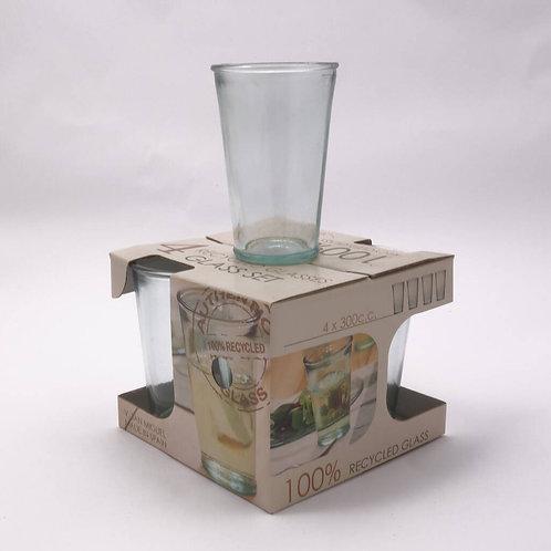 Recycled glass 300ml tumbler giftbox