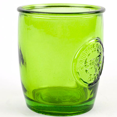 Recycled glass 400ml Authentic tumbler green