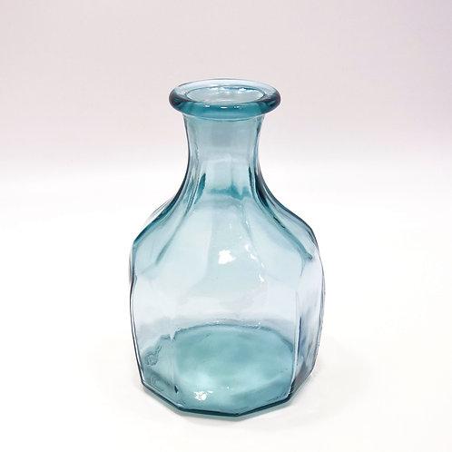 recycled glass zeta vase