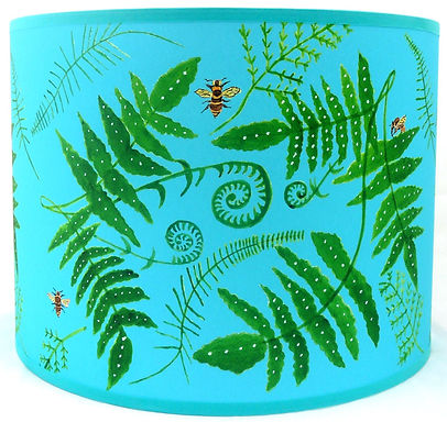 "Handmade Printed Lamp Shade | 12"" to 20"" Diameter 
