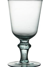 "Recycled Glass Wine Glasses | Clear | ""Verona"" Set"