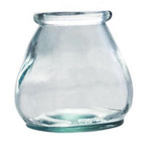 Set of 3 10cm Hurricane Vase/Tea Light Holder