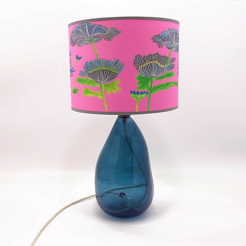 recycled glass simplicity lamp base