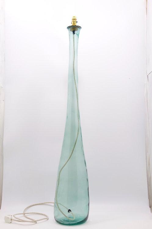 "RecycledGlass Table Lamp | 126cm Natural Green | ""Jarron"""