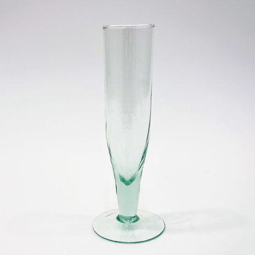 Recycled Glass Prosecco Champagne Flute | Clear | Set