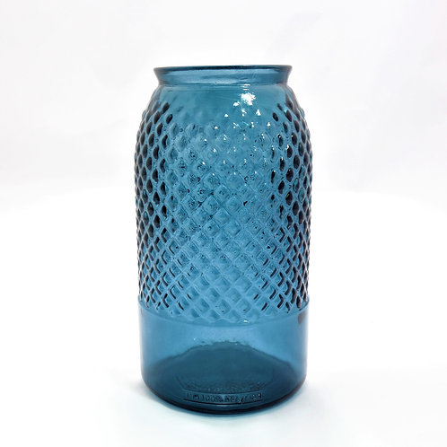 recycled diamond vase