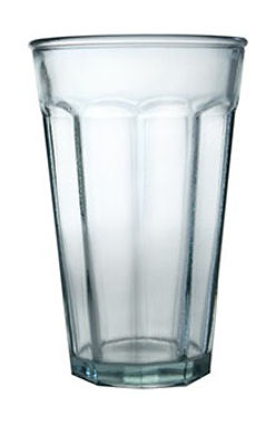 "Recycled Glass Tumbler | 275ml Clear | ""Classic"" Set"