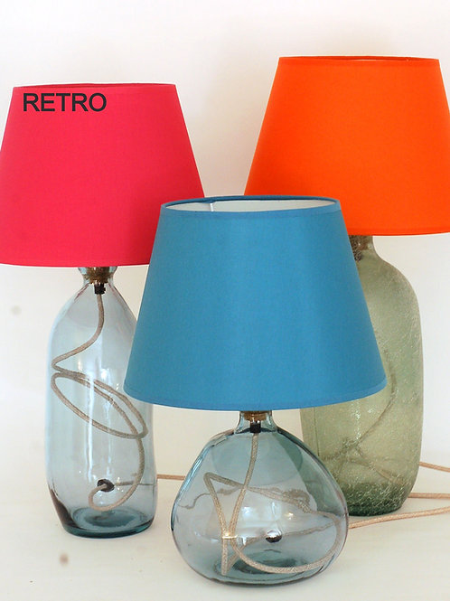 "Handmade Coloured Lamp Shade | 20"" Diameter 