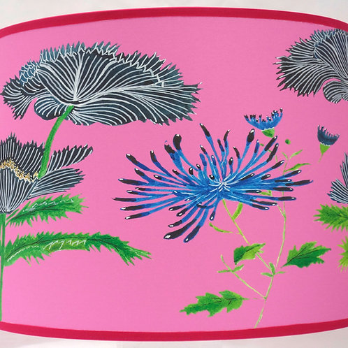Japanese lampshade pink