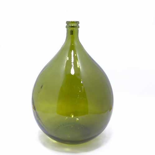 recycled glass carboy bottle vase