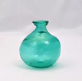18cm Simplicity Vase Aqua