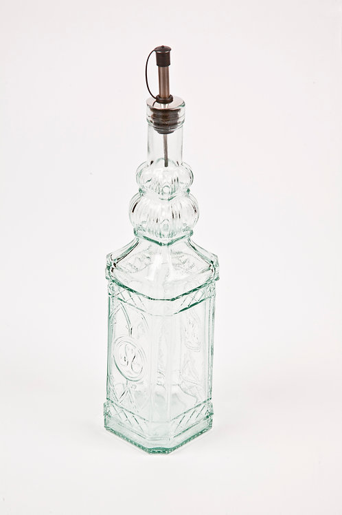 recycled glass oil pourer