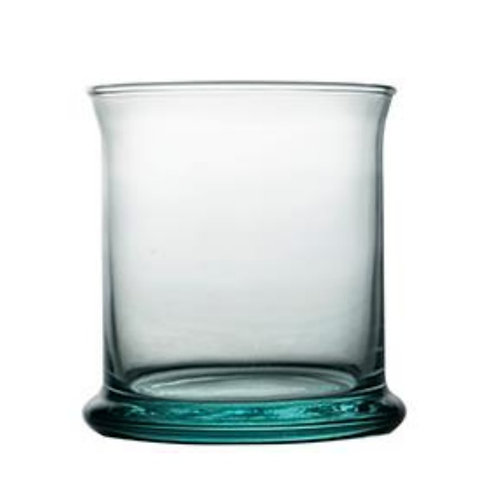 Recycled Glass Tumbler | 280ml Clear | Elegant Set of 6