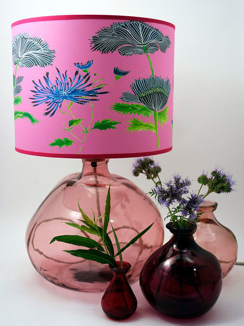 Recycled glass Simplicity vase with shade