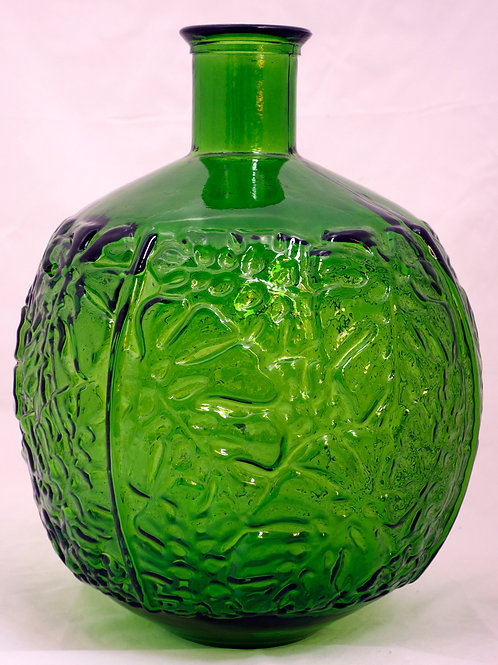 Recycled glass 44cm jungla bottle vase
