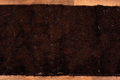 recycled cotton rug brown