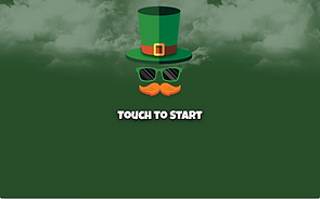 Touch to start st Patrick's day photo bo