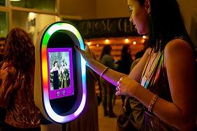 Selfie Photo Booth Kiosk Rental _ Chicag