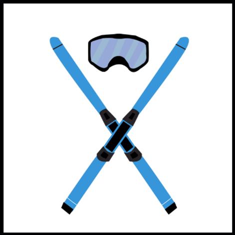 Skier Prop