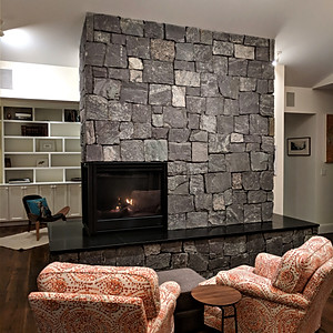 270 Degree Fire Place