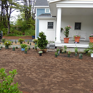 Plantings in Kennebunk