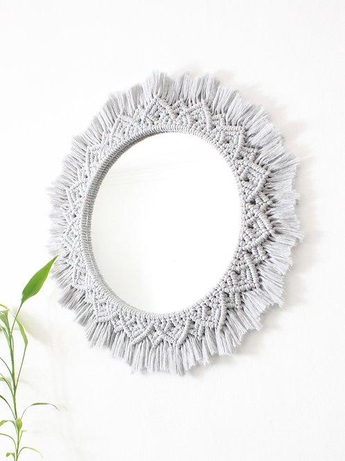 Espelho XL Cinza