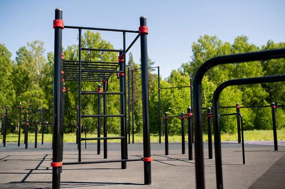 Facilities: Outdoor Gyms