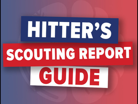 Tips and Tricks to Building an Opposing Hitter Scouting Report