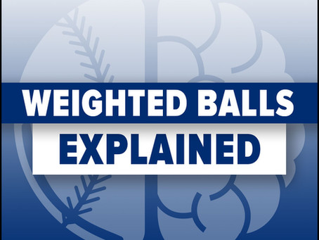 What I Think I Know About Weighted Balls