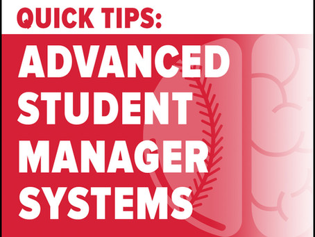 Strategies for Building an Effective Student Manager Program