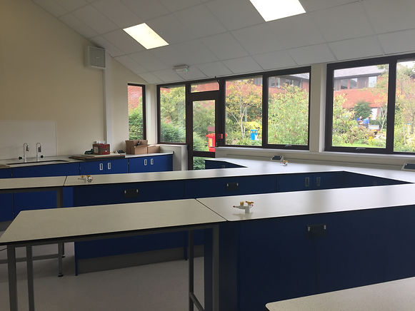 Colyton Grammar School Science Laboratory