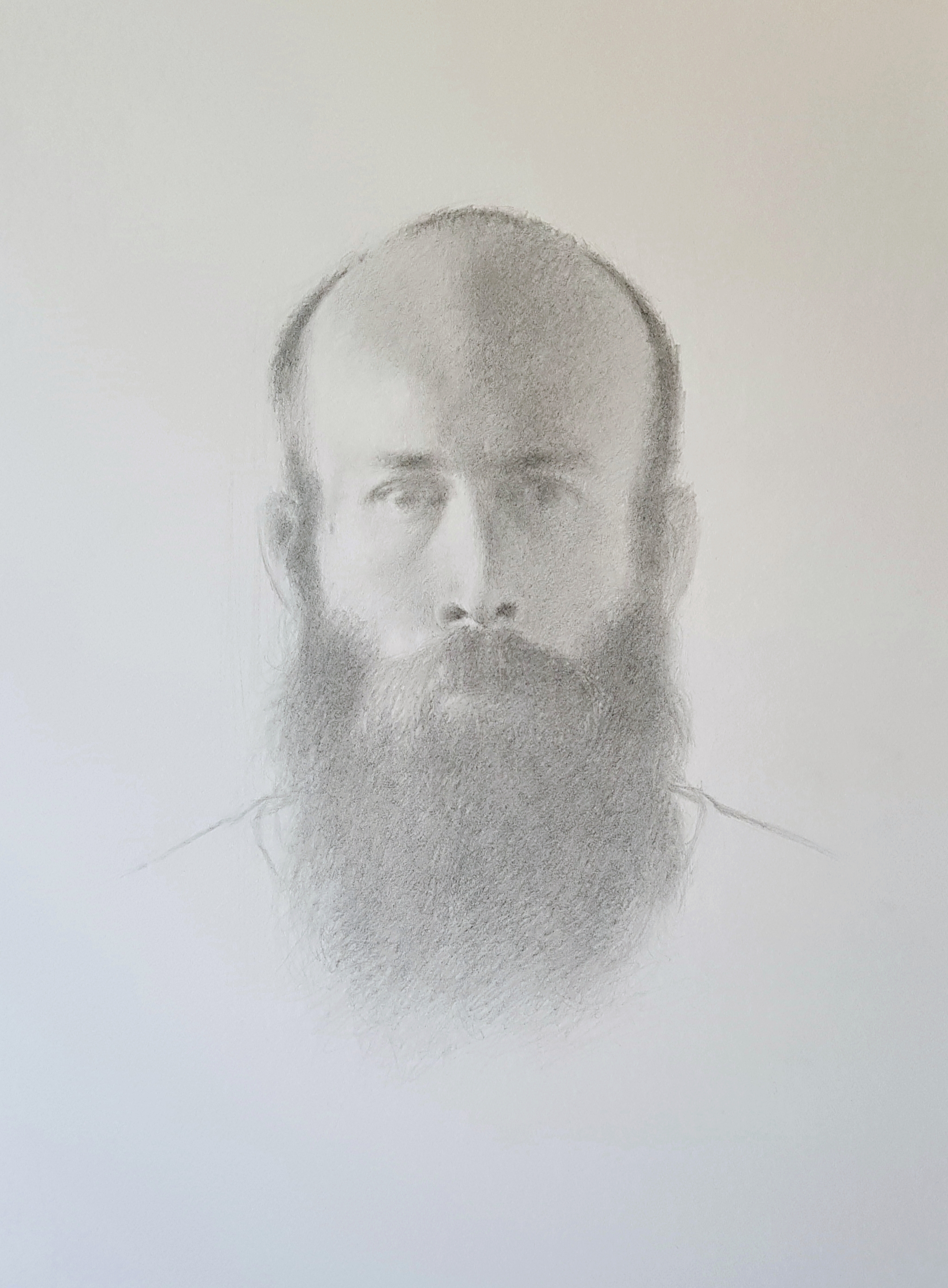 Self portrait, Pencil on paper, 2019