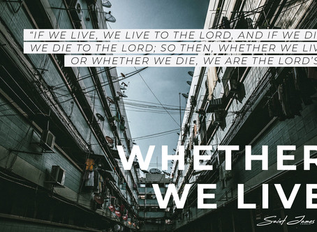 Whether we live