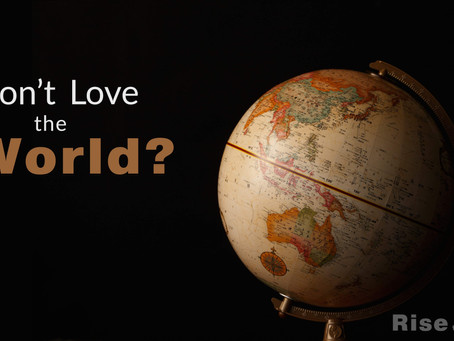Don't Love the World?